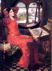 "Waterhouse, ""I am half-sick of shadows"", said the Lady of Shalott"