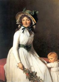 David, Emilie Seriziat en haar zoon