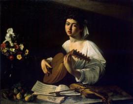 Caravaggio, De luitspeelster