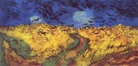 Van Gogh, Korenveld met kraaien