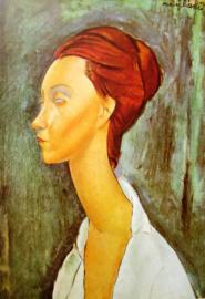 Modigliani, Portret van Lunia Czechowska