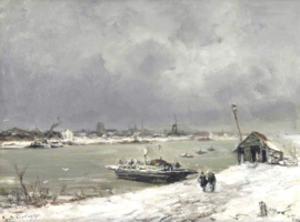 Apol, Een veerboot bij Wijk bij Duurstede