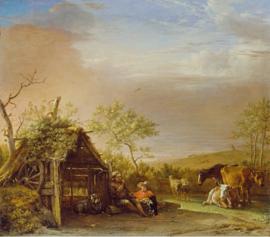 Potter, Herders met hun vee