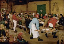 Bruegel, Boerenbruiloft