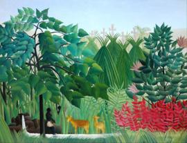 Rousseau, De waterval