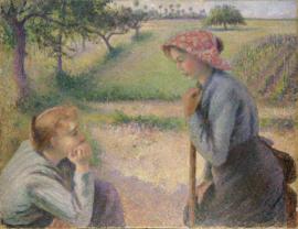 Pissarro, Twee jonge boerinnen