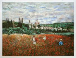 Monet, Klaprozen bij Vetheuil