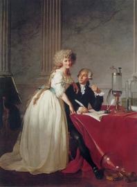David, Monsieur Lavoisier en zijn vrouw