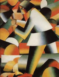 Malevich, De houthakker