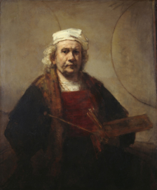 Rembrandt, Zelfportret met twee cirkels