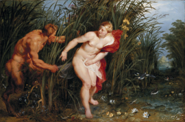 Rubens, Pan en Syrinx