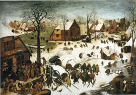 Bruegel, De volkstelling in Bethlehem