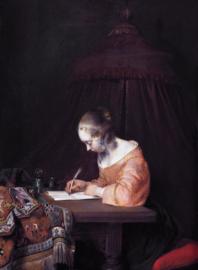 Ter Borch, De briefschrijfster