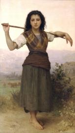 Bouguereau, De herderin