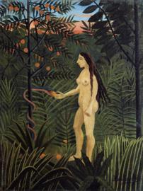 Rousseau, Eva en de slang