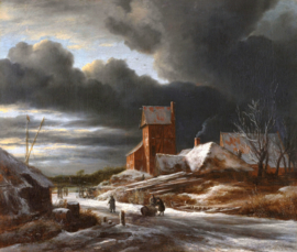 Van Ruisdael, Winterlandschap