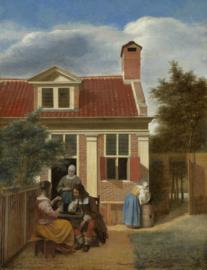 De Hooch, Het landhuis