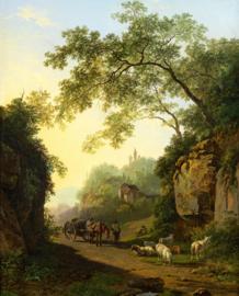 B.C. Koekkoek, Bergachtig landschap