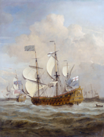 Van de Velde, HMS St. Andrew op zee