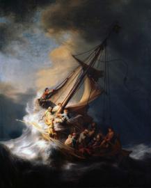 Rembrandt, Christus in de storm op het meer van Galilea