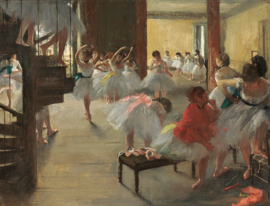 Degas, Balletschool