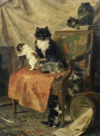 Ronner-Knip, Spelende kittens
