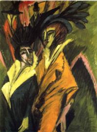 Kirchner, Twee vrouwen op straat