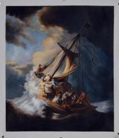 Rembrandt: Christus in de storm op het meer van Galilea