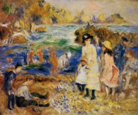 Renoir, Kinderen op het strand van Guernsey