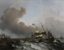 Bakhuysen, Storm op de Hollandse kust