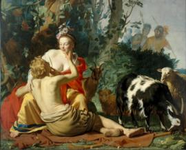 Van Honthorst, Granida en Daifilo