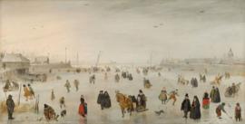 Avercamp, Een scene op het ijs