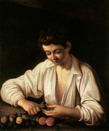 Caravaggio, Fruitschillende jongen