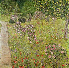 Klimt, Boomgaard met rozen