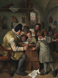 Steen, De onderwijzer