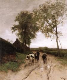 Mauve, Aan het begin van het dorp