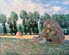 Monet, Hooibergen