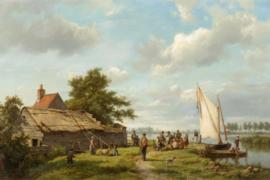 H. Koekkoek, Op de Zuiderzee