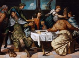 Tintoretto, Avondmaal te Emmaus