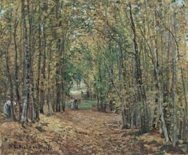 Pissarro, De bossen van Marly