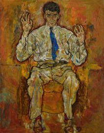 Schiele, Portret van Paris von Gütersloh