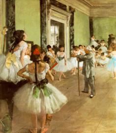 Degas, Dansklas