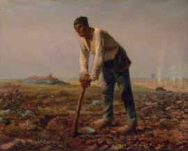 Millet, Man met een schoffel