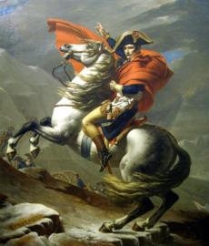 David, Napoleon steekt de Alpen over