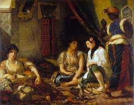 Delacroix, De vrouwen van Algiers