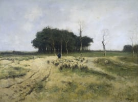 Mauve, Heide bij Laren