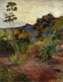 Gauguin, Landschap op Martinique