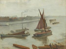 Whistler, Grijs en zilver: Old battersea Beach