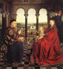 Van Eyck, De maagd van kanselier Rolin