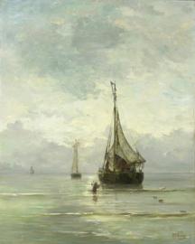 Mesdag, Kalme zee